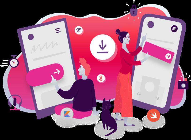 Grafika: Budowanie aplikacji natywnych na Androida i iOS-a w Kotlinie i Swifcie
