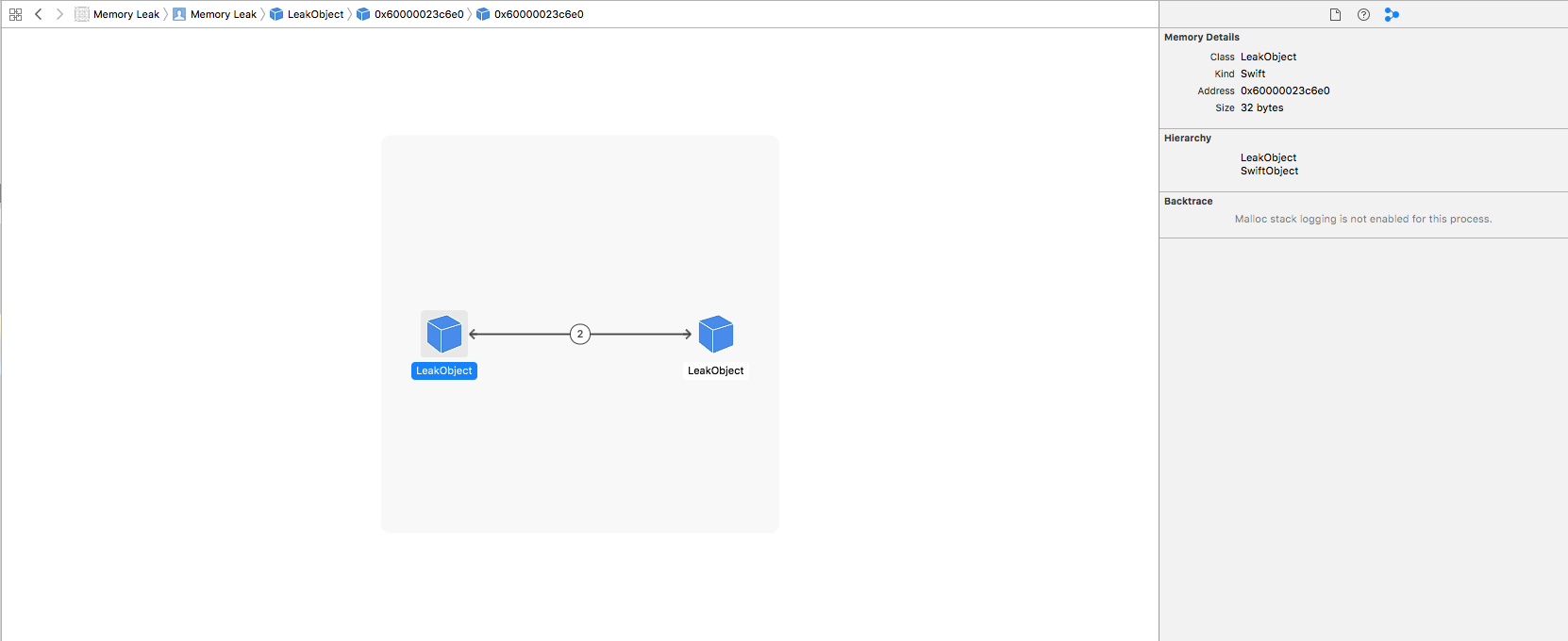 Debugger in Xcode